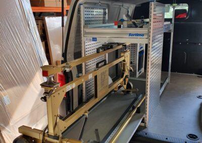 tiroir 70-160cm de long capacité 200kg